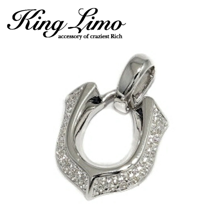 【King Limo/キングリモ】ハイローラーペンダント ホースシュー 馬蹄 silver925 メンズ ネックレス NECKLACE アクセサリー