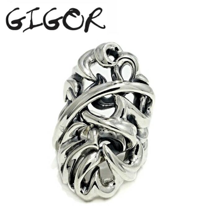 【GIGOR/ジゴロウ】アムテイルリング メンズ リング 指輪 ゴツい 唐草 シルバー リング Silver925