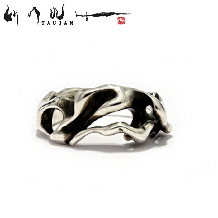 【TAUJAN/タウジャン】292-02 シルバー925 シルバーアクセサリー 脈 Silver925 細身 メンズ リング 指輪 メンズアクセサリー シルバー925