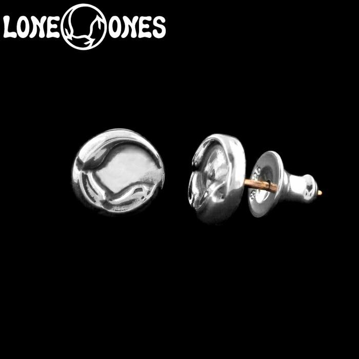 【LONE ONES/ロンワンズ】Kiss & Flow / Flow Medallion Stud / フロー メダリオン スタッド イヤリング シルバーアクセサリー シルバー925 Silver925 ピアス