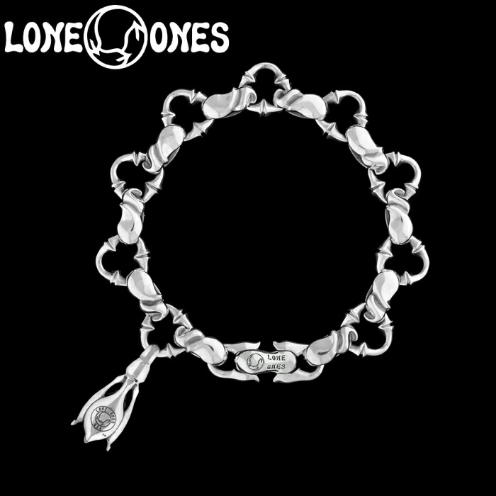 【LONE ONES/ロンワンズ】Kiss & Flow /Caresses Small with 1 Tear Bell Bracelet / カレシス ブレスレット ウィズ 1 ティアー ベル スモール シルバーアクセサリー シルバー925 Silver925 ブレス
