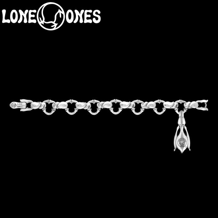 【LONE ONES/ロンワンズ】Kiss & Flow /Caresses -midium with 1 Tear Bell Bracelet / カレシス ミディアム ウィズ 1 ティアー ベル ブレスレット シルバーアクセサリー シルバー925 Silver925 ブレス