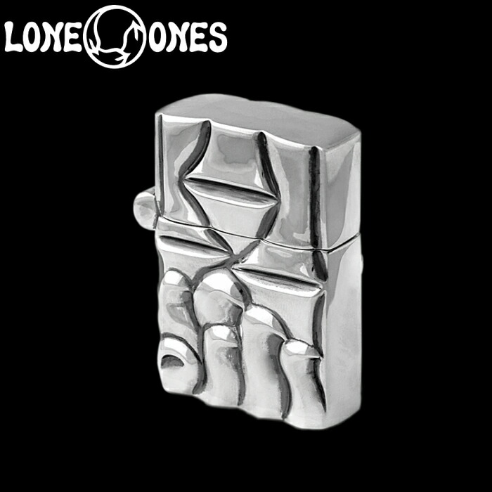 【LONE ONES/ロンワンズ】Kiss & Flow /Kiss & Flow Lighter / キスアンドフロー ライター シルバーアクセサリー シルバー925 Silver925 ZIPPO