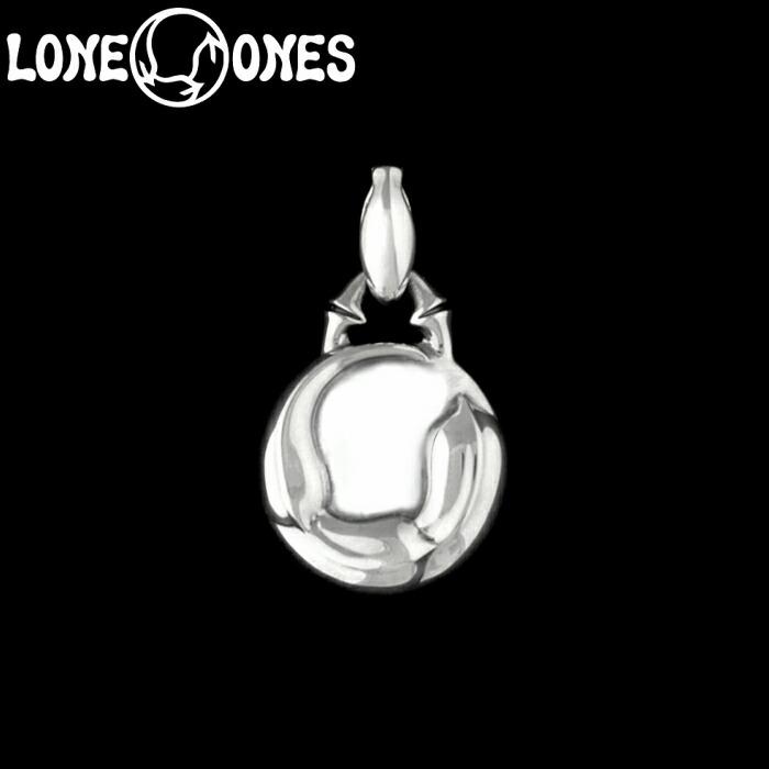【LONE ONES/ロンワンズ】Kiss & Flow / Flow Medallion Pendant / フロー メダリオン ペンダント シルバーアクセサリー シルバー925 Silver925 トップ