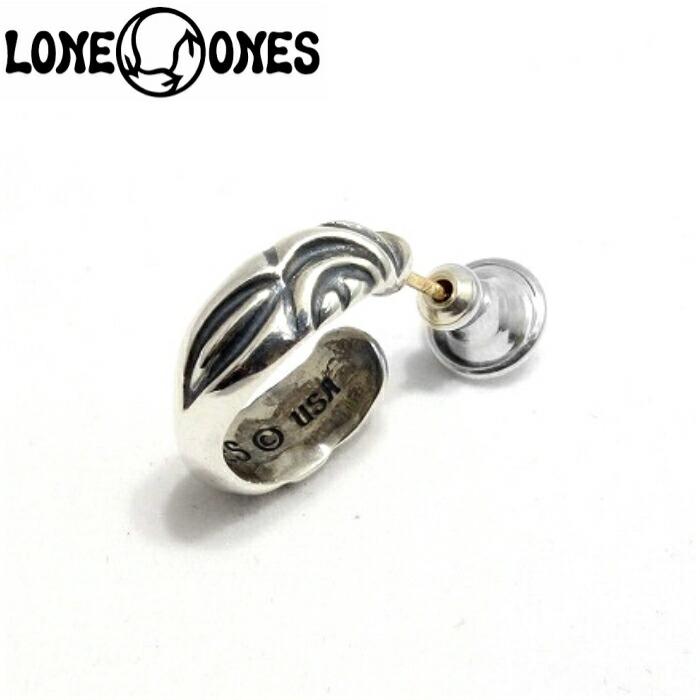 【LONE ONES/ロンワンズ】Osprey Earring/オスプレイイヤリング メンズ ピアス フープ 鳥 ギフト シルバーアクセサリー シルバー925 Silver925
