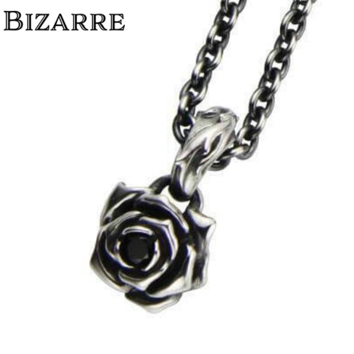 【BIZARRE/ビザール】シークレットローズシルバーペンダント(チェーンセット) 薔薇 ローズペンダント シルバー925 SILVER925