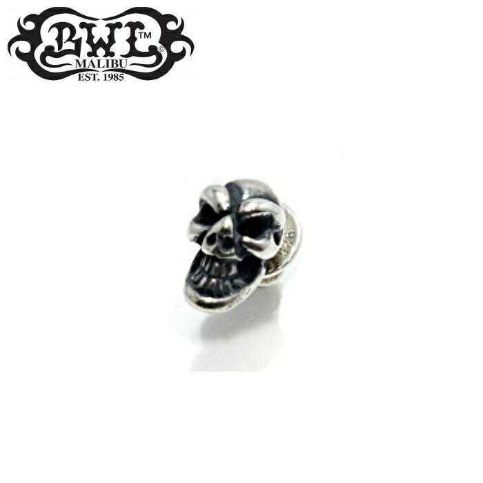 【Bill Wall Leather/ビルウォールレザー】Skull Stud スカルスタッド スカル メンズ ピアス ギフト Silver925
