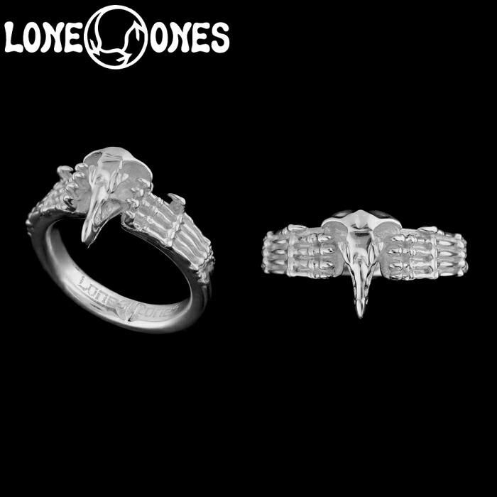 【LONE ONES/ロンワンズ】Basic Nature / ベーシックネイチャー / Raptor Ring レナードカムホート Leonard Kamhout 指輪 シルバーアクセサリー メンズアクセサリー silver925 シルバーリング Ring