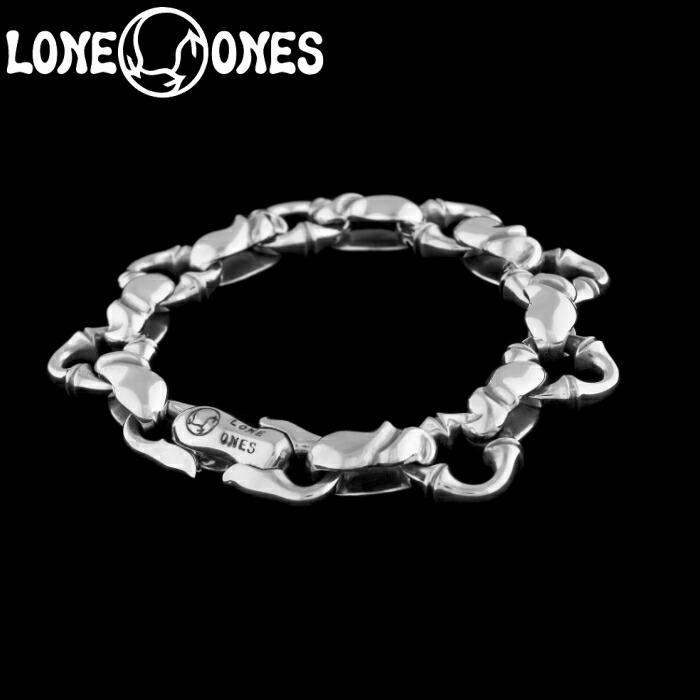 【LONE ONES/ロンワンズ】Kiss & Flow / Caresses Bracelet-midium / カレシス ブレスレット シルバーアクセサリー シルバー925 Silver925 ブレス