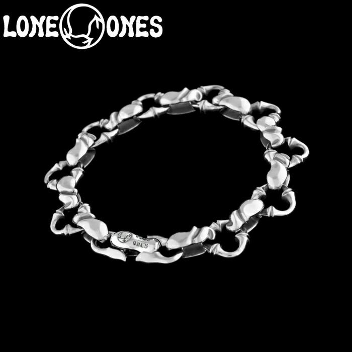 【LONE ONES/ロンワンズ】Kiss & Flow / Caresses Bracelet-small/ カレシス ブレスレット スモール シルバーアクセサリー シルバー925 Silver925 ブレス