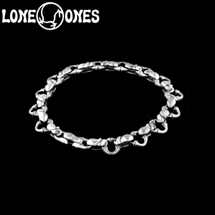 【LONE ONES/ロンワンズ】Kiss & Flow / Caresses Bracelet-Extra Small- / カレシス ブレスレット エクストラスモール シルバーアクセサリー シルバー925 Silver925 ブレス