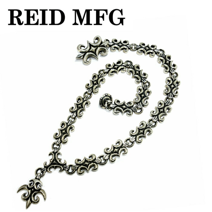 【REID MFG/リードエムエフジー】Big Wave Keeper & All Small Wave w/1 Breeze 24inch ウェーブキーパー ウォレットチェーン Wallet Chain メンズアクセサリー silver925
