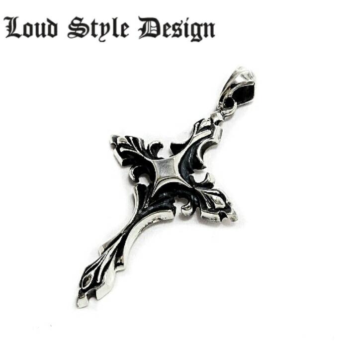 【Loud Style Design/ラウドスタイルデザイン】UP-001 LSD クロスペンダント メンズ シルバー925 十字架 メンズアクセサリー