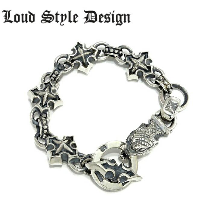 【Loud Style Design/ラウドスタイルデザイン】BITE VIPER BRACELET LSD スネークブレスレット 蛇 メンズアクセサリー シルバー925 Silver925 ブレスレット アニマル