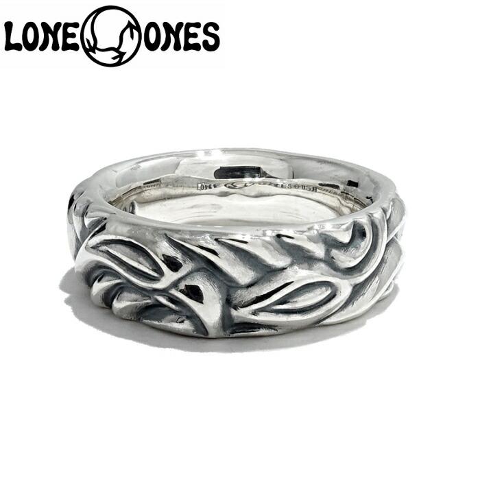 【LONE ONES/ロンワンズ】Love Bite Ring/ラブバイトリング ペアリング 結婚指輪 レナードカムホート Leonard Kamhout 指輪 シルバーアクセサリー メンズアクセサリー silver925 シルバーリング Ring