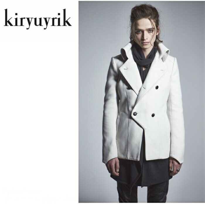 【kiryuyrik/キリュウキリュウ】Napoleon Jacket/ ナポレオンジャケット メンズ ジャケット モード 2色展開