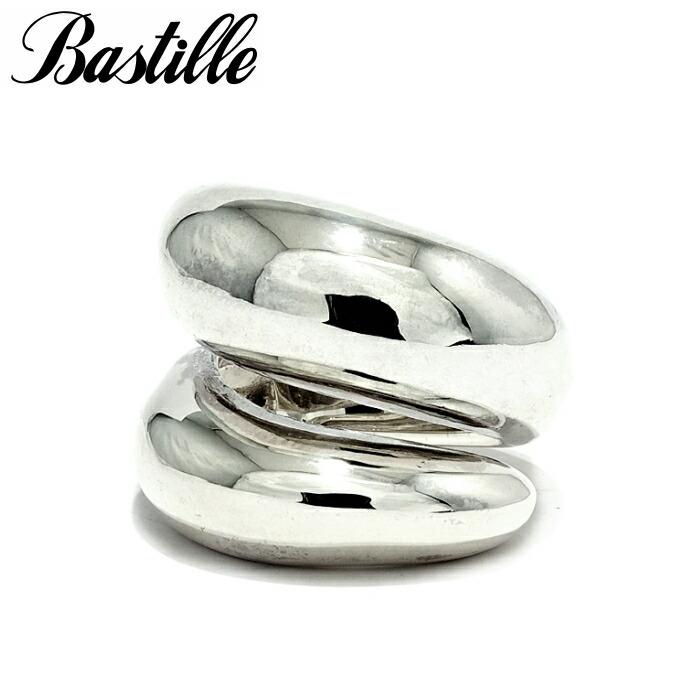 【Bastille/バスティーユ】バッシュモンリング シルバー925 リング シンプル 無垢 人気 ぽってり