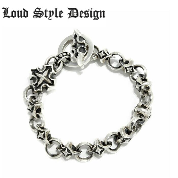 【Loud Style Design/ラウドスタイルデザイン】- 残光 - LSD L,S,D メンズアクセサリー シルバー925 Silver925 ブレスレット