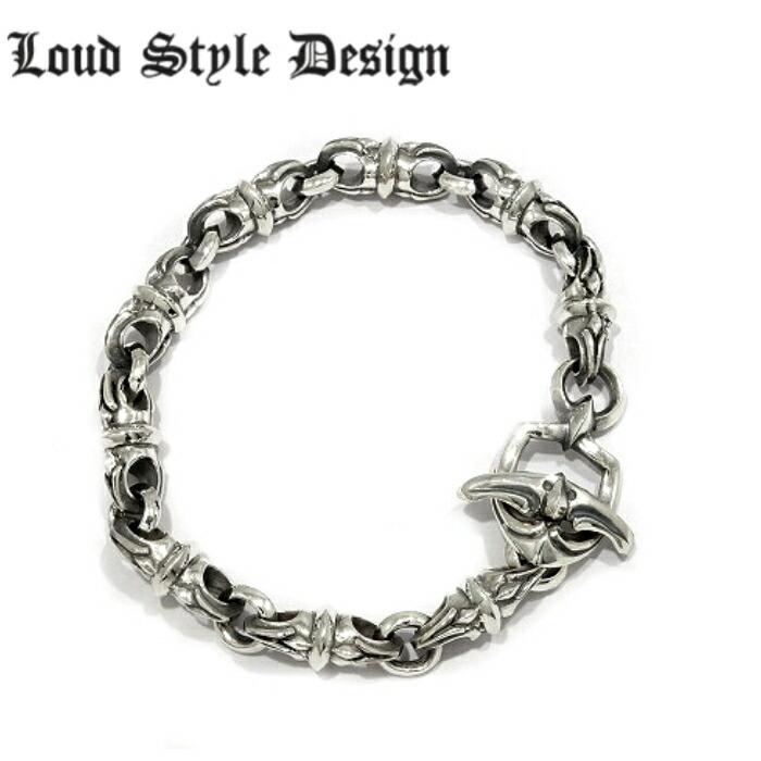 【Loud Style Design/ラウドスタイルデザイン】UB-015 LSD L,S,D メンズアクセサリー シルバー925 Silver925 ブレスレット