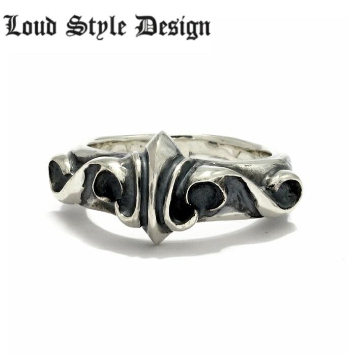 【Loud Style Design/ラウドスタイルデザイン】bloom Ring LSD メンズアクセサリー 百合 Lily リリー Silver925 シルバー925