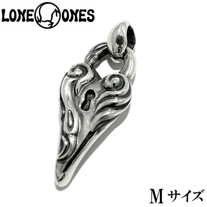 【LONE ONES/ロンワンズ】Swan Dive-M/スワンダイブペンダント 南京錠 鍵 ハートペンダント シルバーアクセサリー シルバー925 Silver925