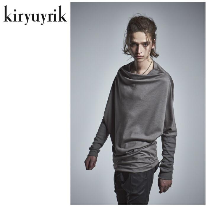 【kiryuyrik/キリュウキリュウ】Wool TENJIKU Dolman Knit/ ウール天竺ドルマンニット ユニセックス ドルマン モード 2色展開