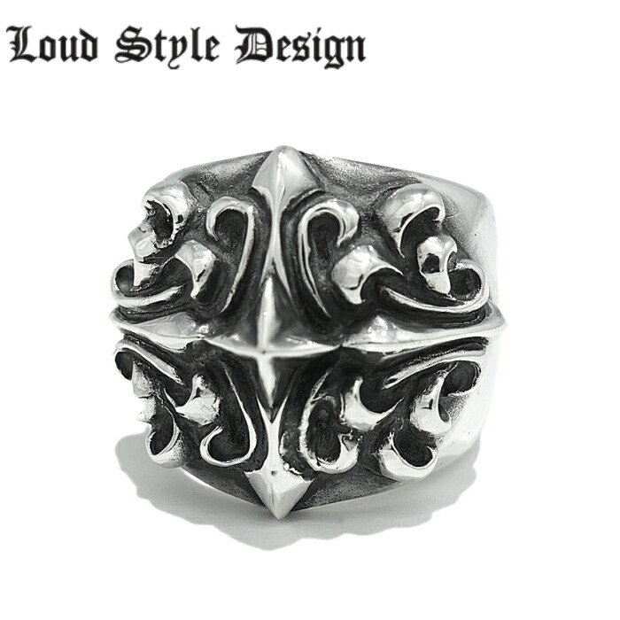 【Loud Style Design/ラウドスタイルデザイン】- TRUTH - LGR-001 LSD ゴシック メンズアクセサリー シルバーリング シルバー925