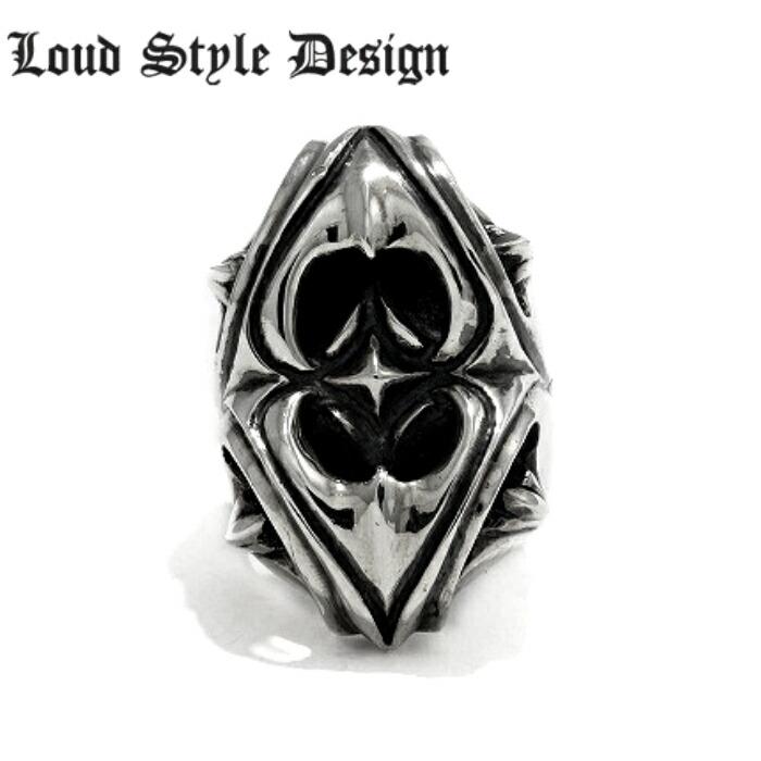 【Loud Style Design/ラウドスタイルデザイン】BLACK EYE RING UR-004_LGR-010 LSD メンズアクセサリー シルバー925