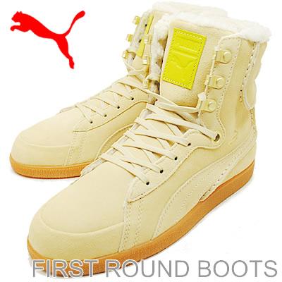 PUMA (PUMA) FIRST ROUND BOOTS (first round boots) Mojave Desert/white/olive