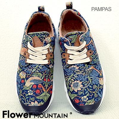 フラワー マウンテン Flower MOUNTAIN PAMPAS パンパス BLUE ブルー 靴 スニーカー シューズ 【あす楽対応】【smtb-TD】【saitama】