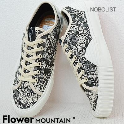 Flower MOUNTAIN フラワー マウンテン NOBOLIST ノボリスト BLACK ブラック 靴 スニーカー シューズ 【返品無料対応】【あす楽対応】【smtb-TD】【saitama】