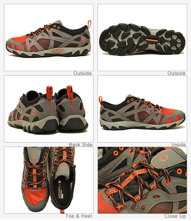 MERRELL (렐) HURRICANE LACE (태풍 레이스) CASTLE ROCK/LANTERN (캐슬 락/손전등) [신발/운동 화/워터 슈즈]
