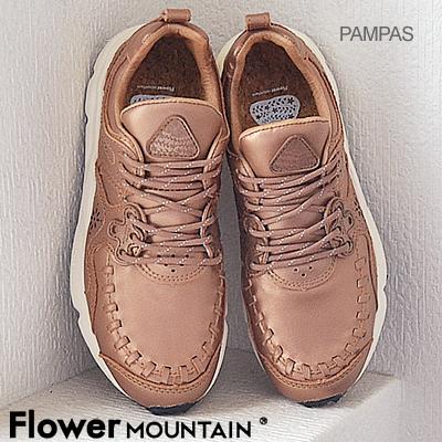 【返品無料対応】【あす楽対応】Flower MOUNTAIN フラワー マウンテン PAMPAS パンパス GOLD ゴールド 靴 スニーカー シューズ 【smtb-TD】【saitama】