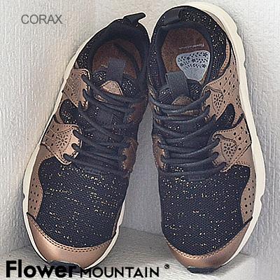 Flower MOUNTAIN フラワー マウンテン CORAX コラックス GOLD ゴールド 靴 スニーカー シューズ 【返品無料対応】【あす楽対応】【smtb-TD】【saitama】