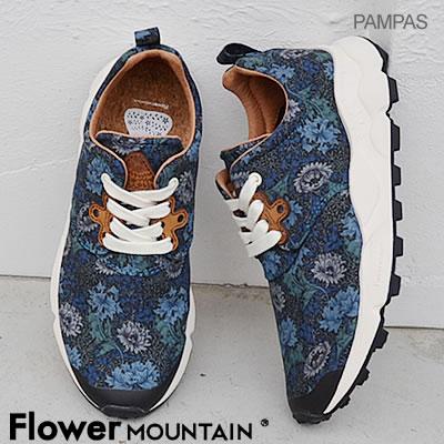 【返品無料対応】【あす楽対応】Flower MOUNTAIN フラワー マウンテンPAMPAS パンパス NAVY ネイビー 靴 スニーカー シューズ 【smtb-TD】【saitama】