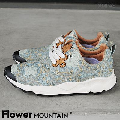 【返品無料対応】【あす楽対応】Flower MOUNTAIN フラワー マウンテンPAMPAS パンパス L.BLUE ライトブルー 靴 スニーカー シューズ 【smtb-TD】【saitama】