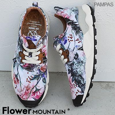 【返品無料対応】【あす楽対応】Flower MOUNTAIN フラワー マウンテンPAMPAS パンパス WHITE ホワイト 靴 スニーカー シューズ 【smtb-TD】【saitama】