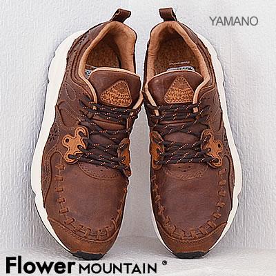 Flower MOUNTAIN フラワー マウンテン YAMANO ヤマノ DARK BROWN ダークブラウン 靴 スニーカー シューズ 【返品無料対応】【あす楽対応】【smtb-TD】【saitama】