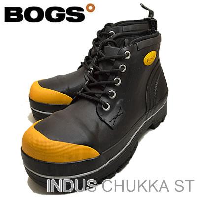 BOGS (ボグス) INDUS CHUKKA ST (인더스 チャッカ ST) BLACK (블랙)