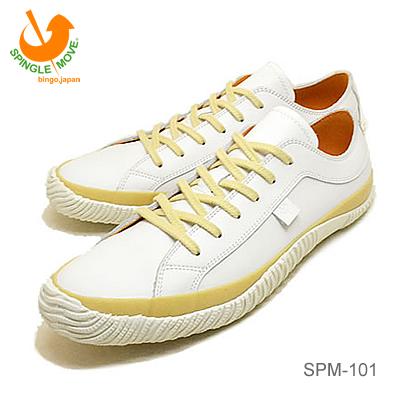 【返品無料対応】 SPINGLE MOVE スピングルムーヴ スピングルムーブ SPM-101 WHITE ホワイト 靴 スニーカー シューズ スピングル 【あす楽対応】 【smtb-TD】【saitama】