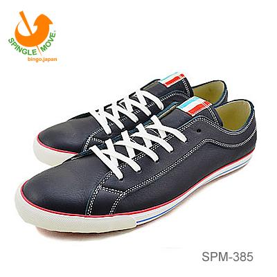 【あす楽対応】【返品無料対応】 SPINGLE MOVE スピングルムーヴ スピングルムーブ SPM-385 NAVY ネイビー 靴 スニーカー シューズ スピングル 【smtb-TD】【saitama】