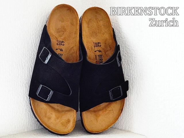 BIRKENSTOCK ビルケンシュトック ZURICH チューリッヒ BLACK ブラック 靴 サンダル シューズ 【smtb-TD】【saitama】