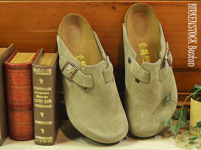 BIRKENSTOCK ビルケンシュトック BOSTON ボストン トープ 靴 サンダル クロッグシューズ 【smtb-TD】【saitama】