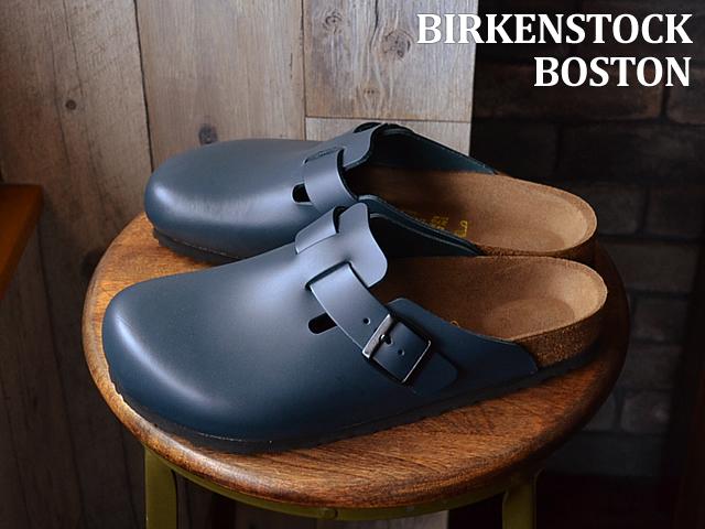 BIRKENSTOCK ビルケンシュトック BOSTON ボストン ブルー 靴 サンダル クロッグシューズ 【smtb-TD】【saitama】