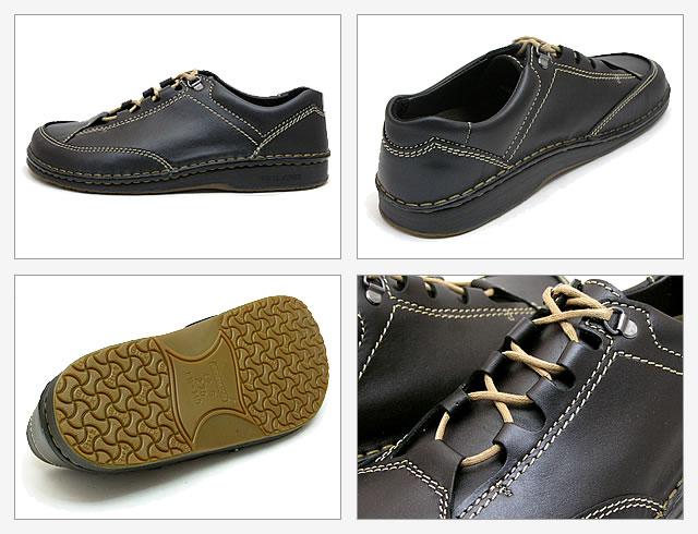 BIRKENSTOCK Footprints (Birkenstock foot print) Vancouver (Vancouver) black