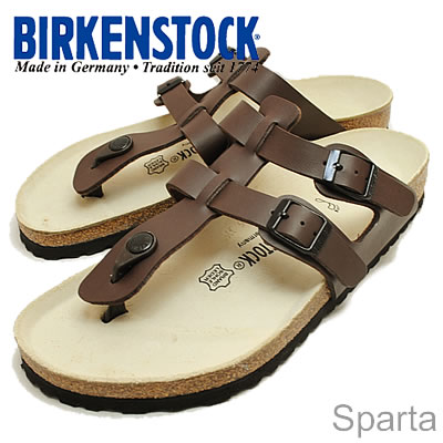 BIRKENSTOCK (비르 켄 슈 특 크) Sparta (스파르타) 다크 브라운 [신발/샌들/신발]