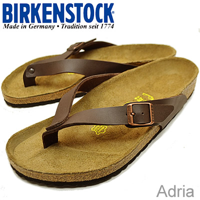 BIRKENSTOCK( ビルケンシュトック )Adria( ad rear) dark brown [shoes, sandals shoes comfort tong, clog thong] [smtb-td] [RCPfashion]