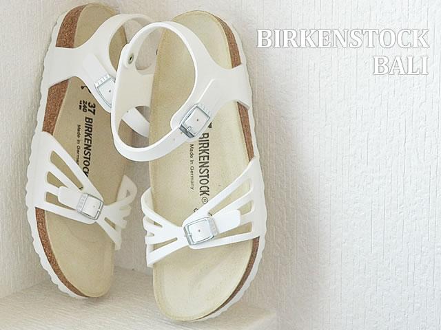 BIRKENSTOCK ビルケンシュトック Bali バリ WHITE ホワイト 靴 レディース サンダル シューズ