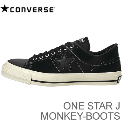 (Converse) CONVERSE ONE STAR J MONKEY-BOOTS (one star J monkey boots) black