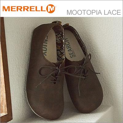 MERRELL メレル MOOTOPIA LACE ムートピア レース BRONTE BROWN ブロンテブラウン 靴 スニーカー シューズ